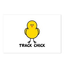 Track Chick Postcards (Package of 8)