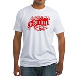 Custom Fitted T-Shirt - USA Made