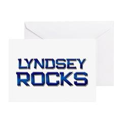 lyndsey rocks Greeting Card
