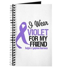 I Wear Violet For My Friend Journal