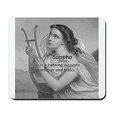 Love / Lyric Poetry: Sappho Mousepad