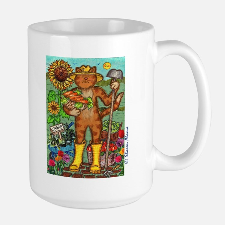 GARDEN CAT Mug