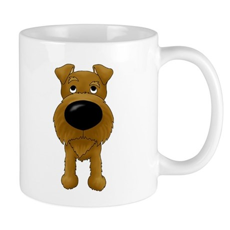 Big Nose/Butt Irish Terrier Mug