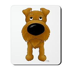 Big Nose Irish Terrier Mousepad