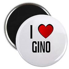 I LOVE GINO Magnet
