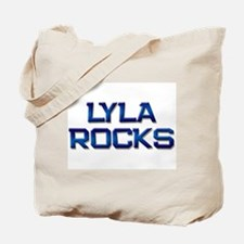 lyla rocks Tote Bag
