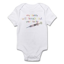 Knockout Daddy Infant Bodysuit