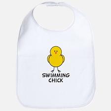 Swimming Chick Bib