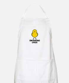 Swimming Chick BBQ Apron