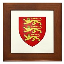 House of Plantagenet Framed Tile
