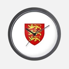 House of Plantagenet Wall Clock
