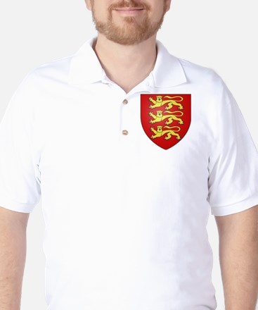 House of Plantagenet Golf Shirt
