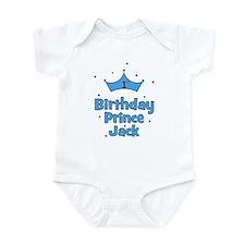 1st Birthday Prince Jack Infant Bodysuit