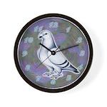 Show Racer Pigeon Wall Clock