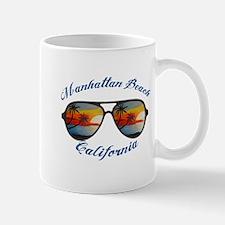 California - Manhattan Beach Mugs