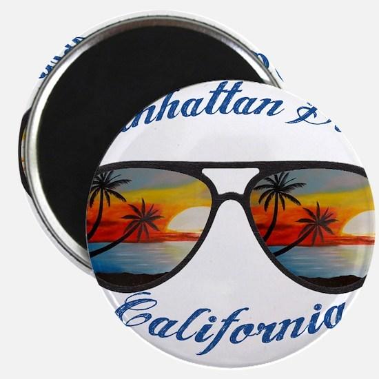 California - Manhattan Beach Magnets
