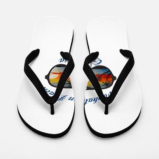 California - Manhattan Beach Flip Flops