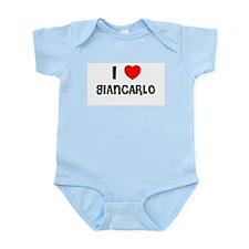 I LOVE GIANCARLO Infant Creeper