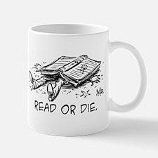 Read or die Mug