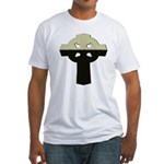 St. Patrick's Cross Fitted T-Shirt