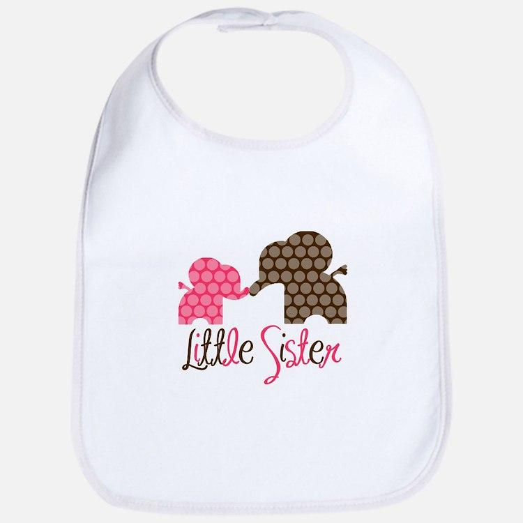 Little Sister Elephant Bib
