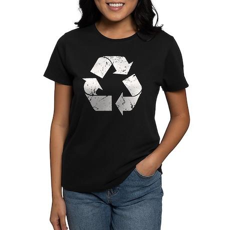 Vintage Recycle Women's Dark T-Shirt