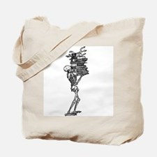 Books and Bones Tote Bag