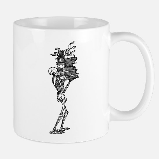 Books and Bones Mug
