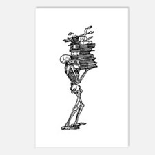 Books and Bones Postcards (Package of 8)