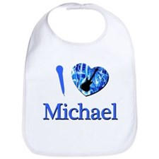 I Love Michael Bib
