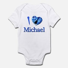 I Love Michael Infant Bodysuit
