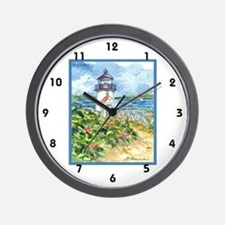 NANTUCKET LIGHTHOUSE Wall Clock