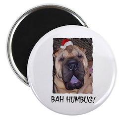 BAH HUMBUG HUMOROUS Magnet