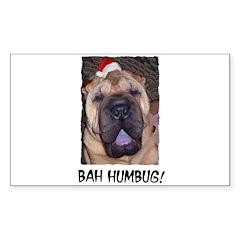 BAH HUMBUG HUMOROUS Decal