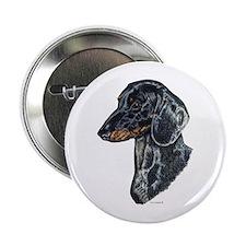 Dachshund Doxie Head Button