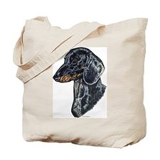 Dachshund Doxie Head Tote Bag