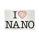 I heart Nano Rectangle Magnet (100 pack)