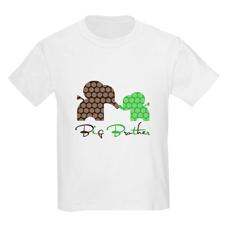 Big Brother Elephant Kids Light T-Shirt