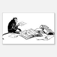 Monkey Do Rectangle Decal