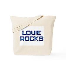 louie rocks Tote Bag