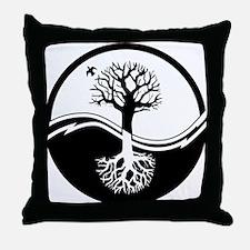 Reiki Tree Throw Pillow