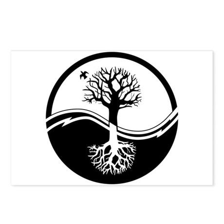 Reiki Tree Postcards (Package of 8)