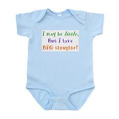 Infant Bodysuit - big thoughts