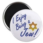 "I Enjoy Being a Jew 2.25"" Magnet (100 pack)"