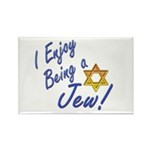 I Enjoy Being a Jew Rectangle Magnet (100 pack)