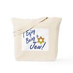 I Enjoy Being a Jew Tote Bag
