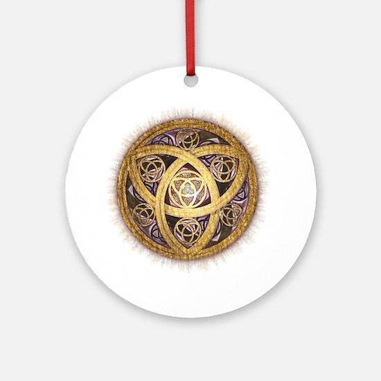 Celtic Sun Ornament (Round)