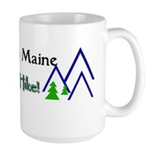 welcome to maine take a hike Mugs