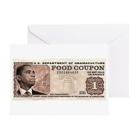 The Obama Food Stamp Greeting Card
