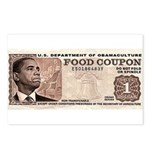 The Obama Food Stamp Postcards (Package of 8)